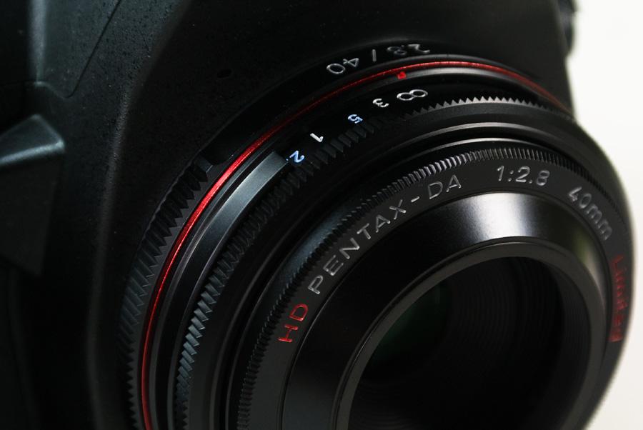 PENTAX HD PENTAX-DA 40mmF2.8 Limited