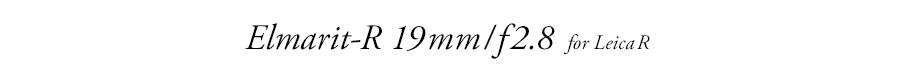 Elmarit21mm/f2.8