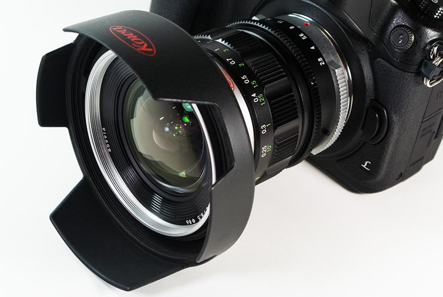 KOWA PROMINAR 8.5mm F2.8 + Panasonic DMC-GH4