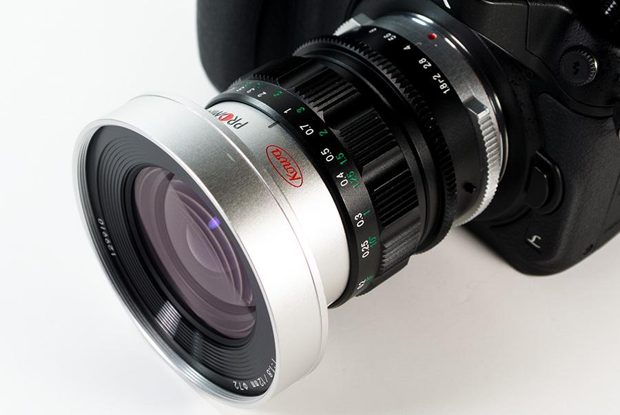KOWA PROMINAR 12mm F1.8 + Panasonic DMC-GH4