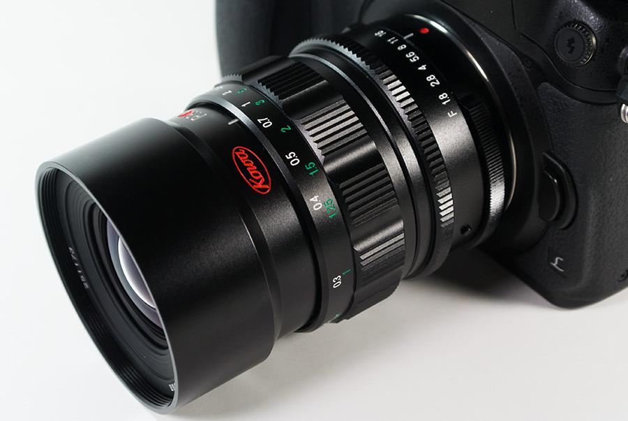 KOWA PROMINAR 25mm F1.8 + Panasonic DMC-GH4