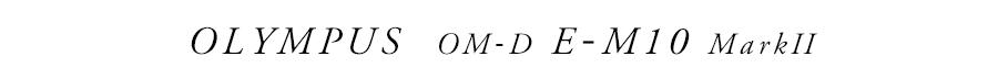 OLYMPUS (オリンパス) OM-D E-M10 Mark II