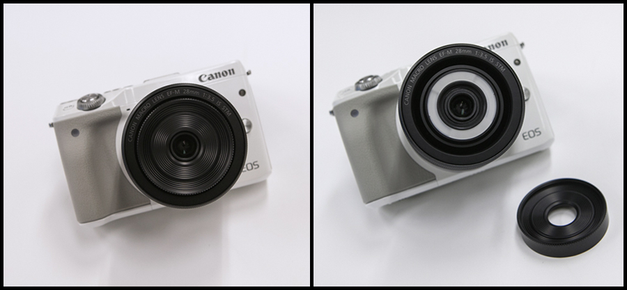 Canon EF-M28mm F3.5 マクロ IS STM