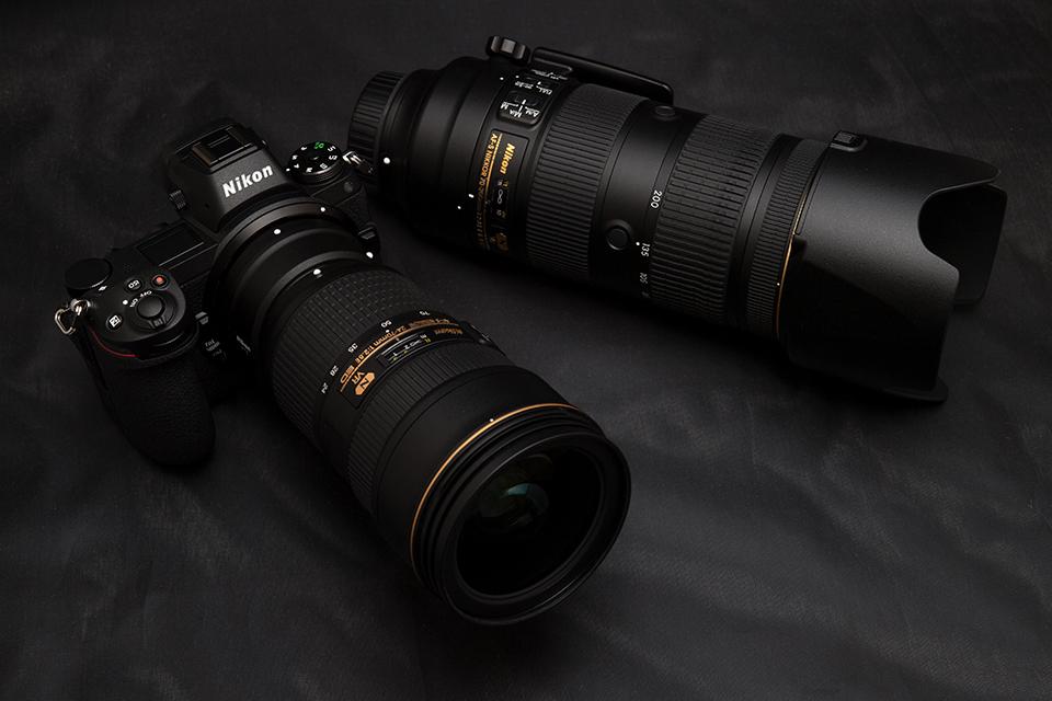 Nikon Z7 +マウントアダプター FTZ