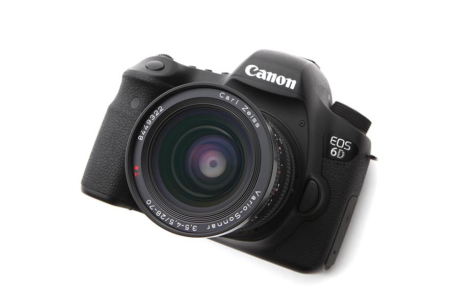 Canon EOS 6D × CONTAX Vario-Sonnar T*28-70mm F3.5-4.5 MM