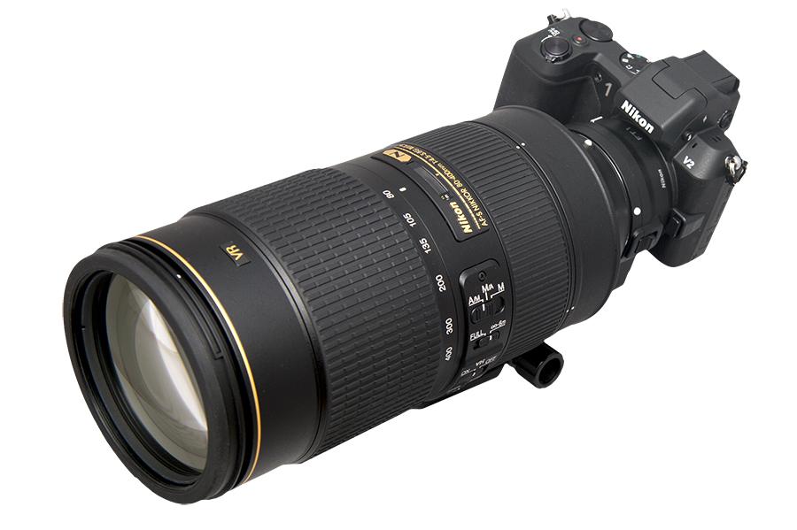 Nikon 1 V2 × AF-S 80-400mm F4.5-5.6G ED VR