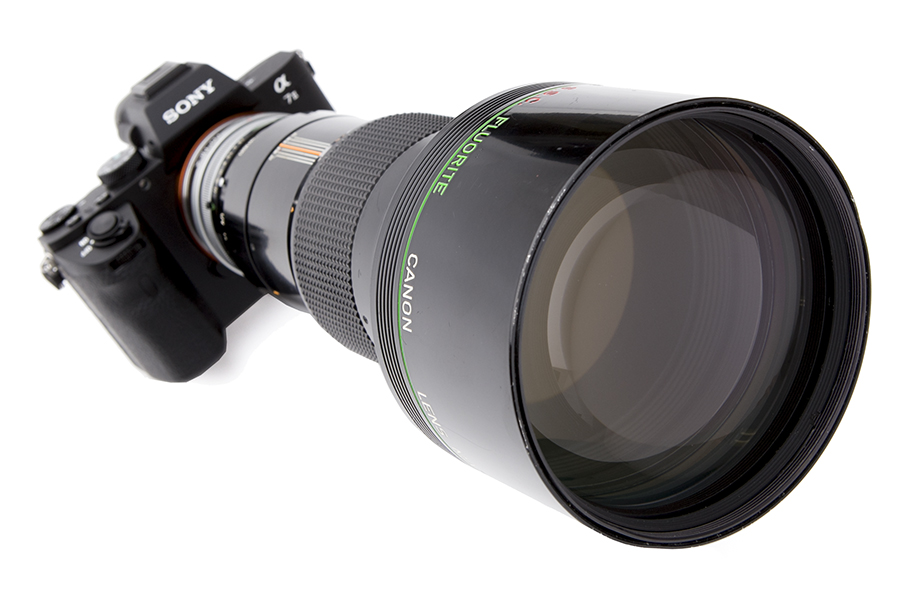 SONY α7II × Canon FD300mm F2.8 S.S.C.