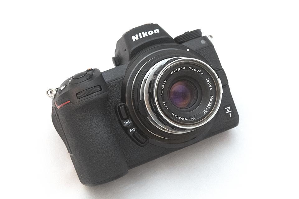 Nikon Z7 + NIKKOR-W 35mm F1.8