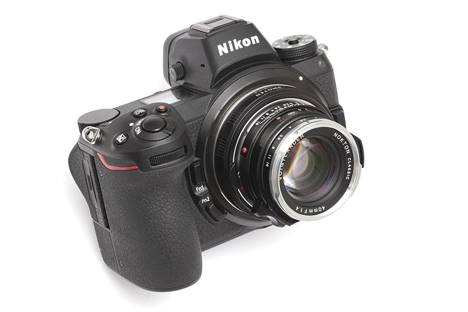 Nikon Z7 + SHOTENマウントアダプター ライカMレンズ/ニコンZボディ 用 LM-NZ + Voigtlander NOKTON classic 40mm F1.4 MC VM