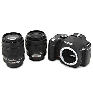 PENTAX K-m Wズームキット DA L18-55mmF3.5-5.6AL/DA L50-200mmF4-5.6ED