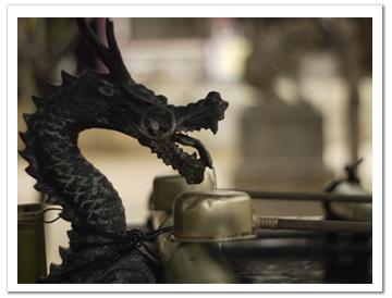 お手水ドラゴン 開放