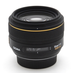 SIGMA AF 30mm F1.4 EX DC HSM (Nikon)